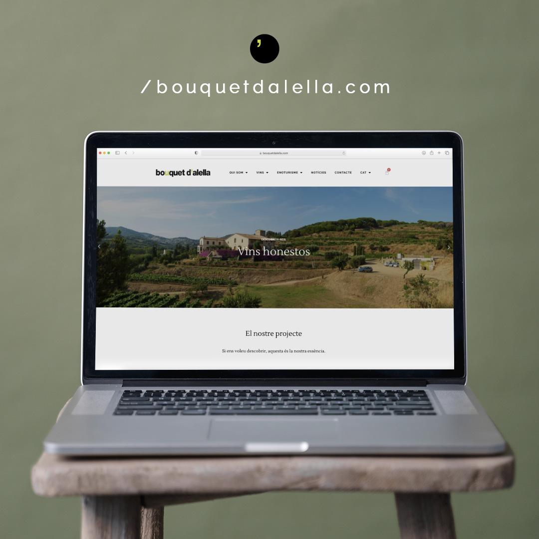 Estrenem web i botiga online de vins i enoturisme